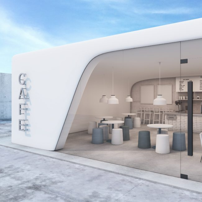 Cafe Concept Boutique - Designya Architecture Manchester