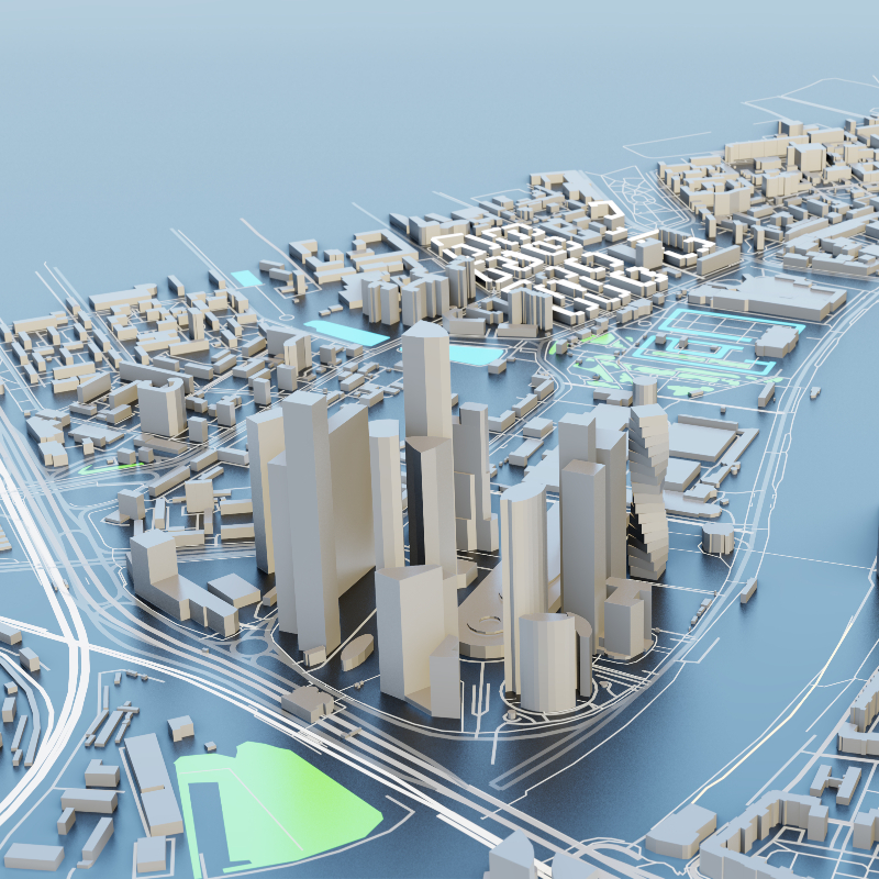 Feasibility Study - Aerial View - Designya Architecture Manchester UK