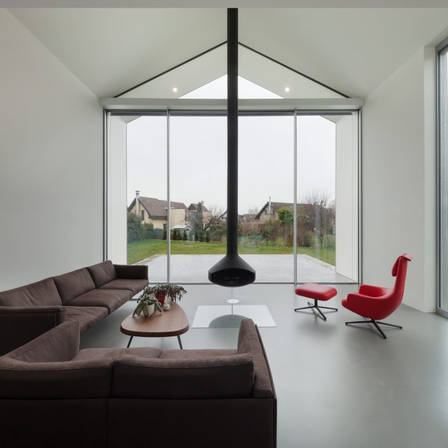 Interior of a beautiful modern house