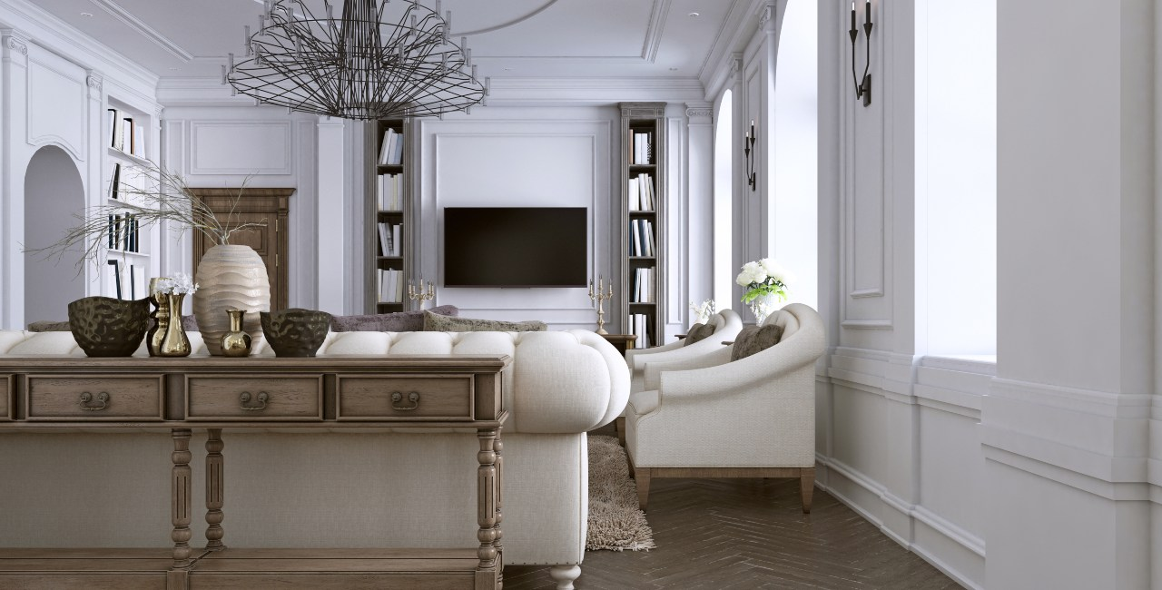 Interior-design-classic-style-living-room 2