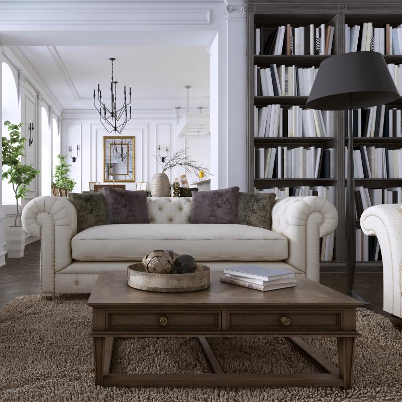 Interior-design-classic-style-living-room 3