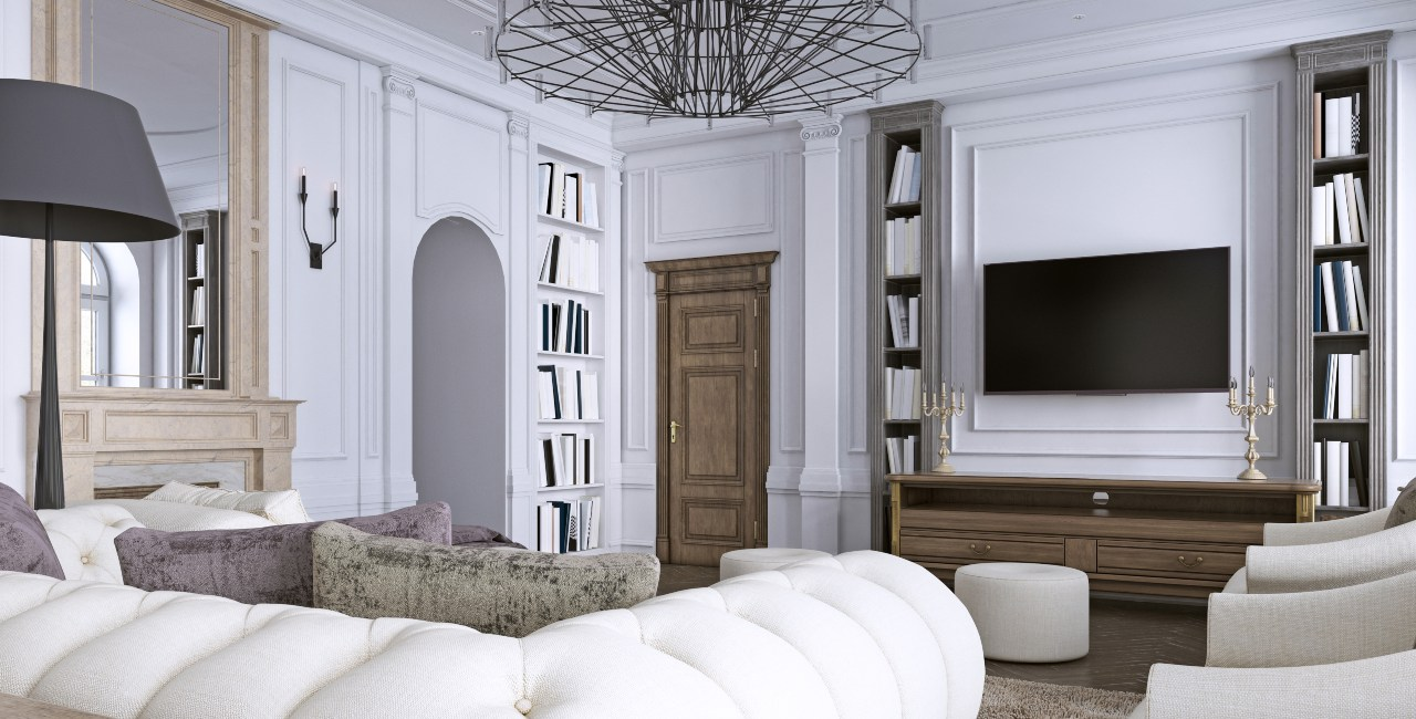 Interior-design-classic-style-living-room 4