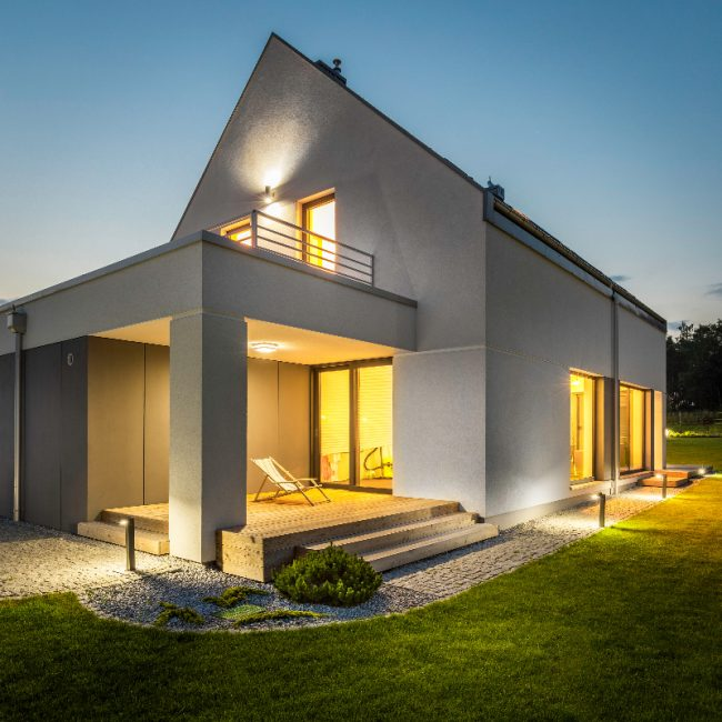 Modern Small House - Designya Architecture Manchester