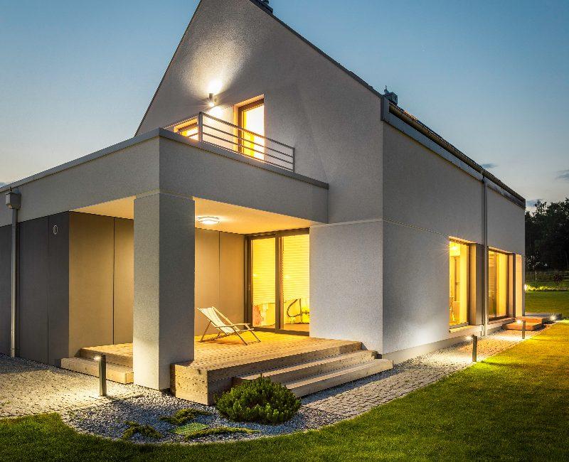 Modern Small House - Designya Architecture Manchester