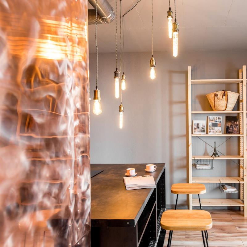 Metallic Decor - Designya Architecture Manchester UK.