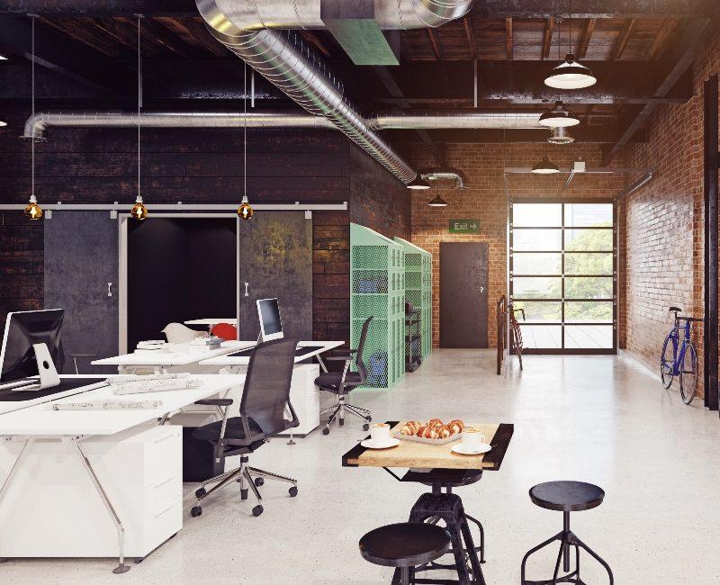 Rough Red Brick Office - Designya Architecture Manchester UK.